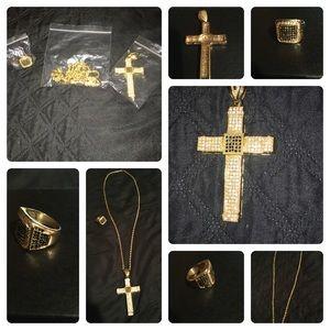Men 3 piece Jewelry Set